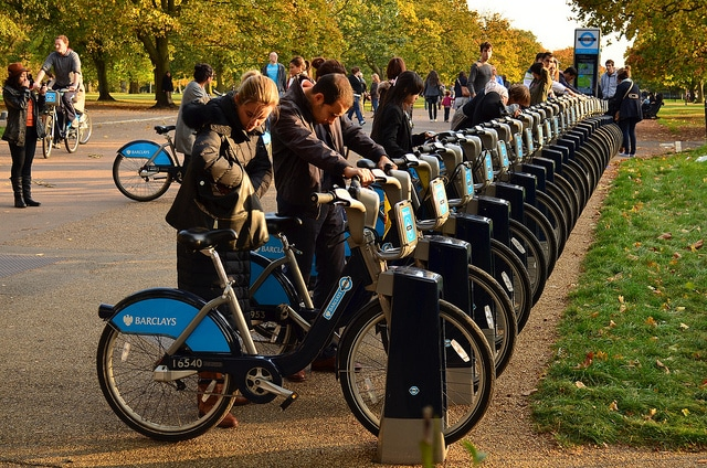 Boris Bike_London