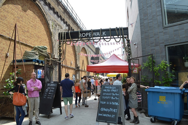 Maltby Street Market_London