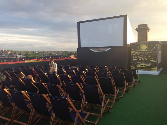 Rooftop Cinema_London