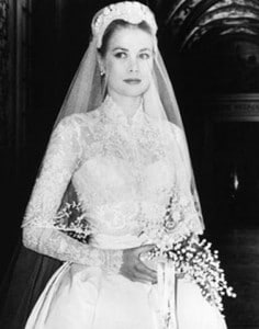 grace kelly wedding gown most iconic wedding gowns