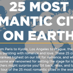 The 25 Most Romantic Cities in the World