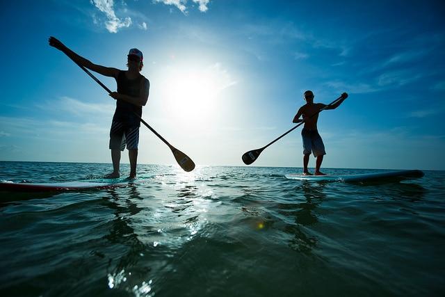 Paddle boarding_Sydney