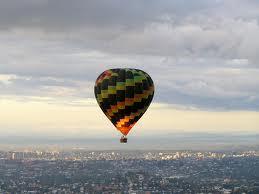 enture date -hot air balloon - Cape Town