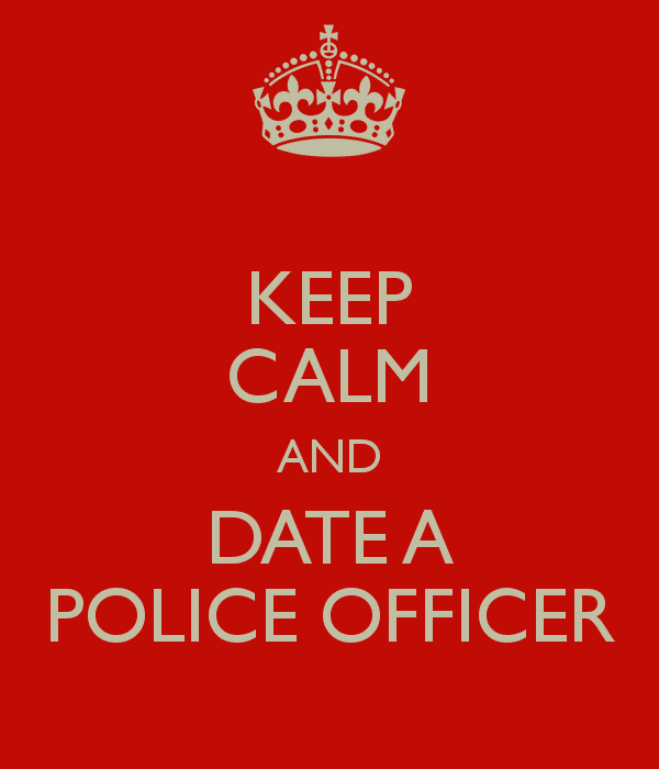 dating a rookie cop