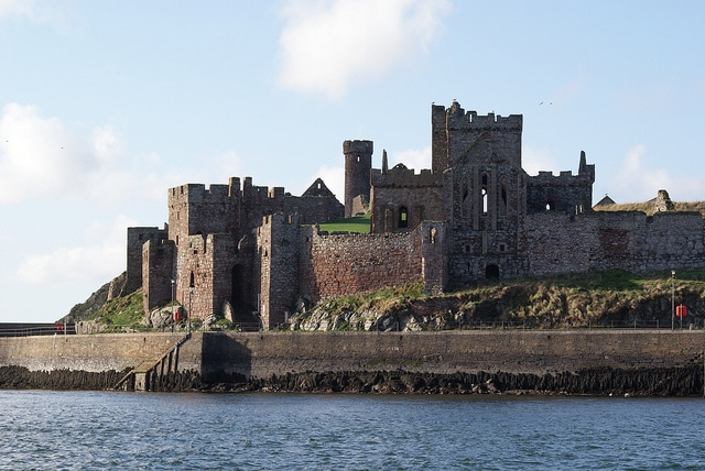 Peel Castle_Isle of man